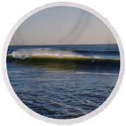 Surfers Make The Ocean Better Series Round Beach Towel