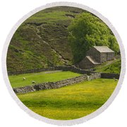 Swaledale Round Beach Towel