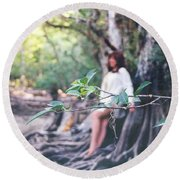 Sweetwater Strand 005 Round Beach Towel