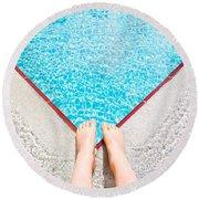 Swimming Pool Round Beach Towel