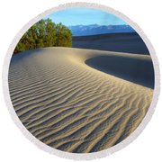 Symphony Of The Sand Round Beach Towel