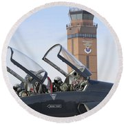 T-38 Talon Pilots Make Their Final Round Beach Towel