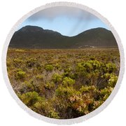 Table Mountain National Park Round Beach Towel