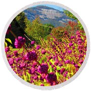 Table Rock Round Beach Towel