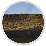 Table Rock Panorama Round Beach Towel