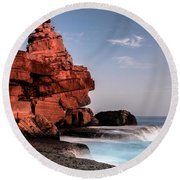 Table Water Round Beach Towel