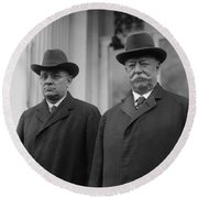 Taft & Butler, 1922 Round Beach Towel