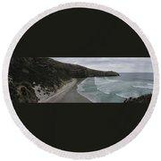 Taiaroa Head Nz Round Beach Towel