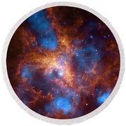 Tarantula Nebula 30 Doradus Round Beach Towel