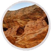 Target - Bulls Eye Anasazi Indian Ruins Round Beach Towel