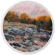 Taum Sauk Mountain Glade I Round Beach Towel
