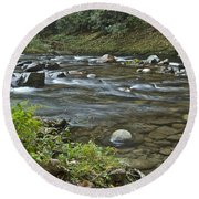 Tennessee Stream 6049 Round Beach Towel