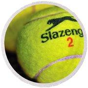 Tennis Balls Round Beach Towel