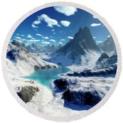 Terragen Render Of An Imaginary Round Beach Towel