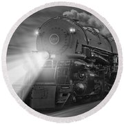 The 1218 On The Move Round Beach Towel
