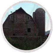 The Barn II Round Beach Towel
