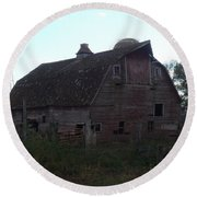 The Barn IIi Round Beach Towel