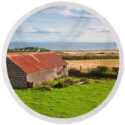 The Barn Round Beach Towel