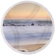The Big Wave Round Beach Towel