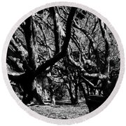 The Black Forest Round Beach Towel