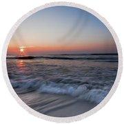The Black Sea Round Beach Towel