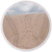 The Buffalo Dune Round Beach Towel