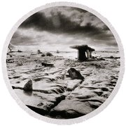 The Burren Round Beach Towel