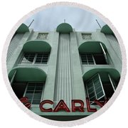 The Carlyle Round Beach Towel