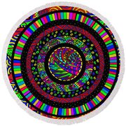 The Circle Round Beach Towel