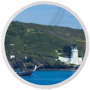 The Earl Of Pembroke Round Beach Towel