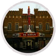The El Raton Round Beach Towel