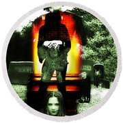 The Evil Within Round Beach Towel