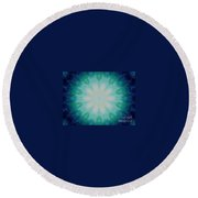 The Eye Of The Beholder Round Beach Towel