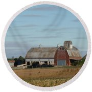 The Farm II Round Beach Towel