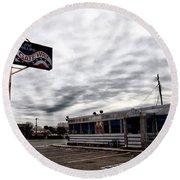 The Gateway Diner - Trooper Pa Round Beach Towel