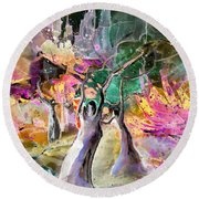 The Ghosts Round Beach Towel