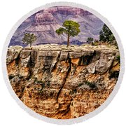 The Grand Canyon Iv Round Beach Towel