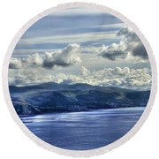The Great Orme Round Beach Towel