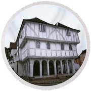 Thaxted Guildhall Round Beach Towel