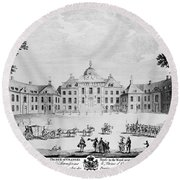 The Hague: Huis Ten Bosch Round Beach Towel
