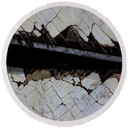 The Hills That Fossil Round Beach Towel