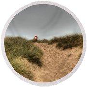 The Lifebelt 2 Round Beach Towel