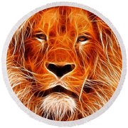 The Lions King Round Beach Towel