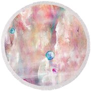 The Lost Marbles Round Beach Towel