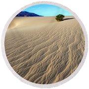 The Magic Of Sand Round Beach Towel