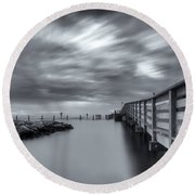 the magic of the Big Stopper Round Beach Towel
