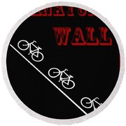 The Manayunk Wall Round Beach Towel