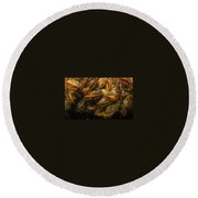 The Mussel Group Round Beach Towel