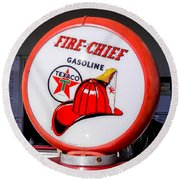 The Other Chief Round Beach Towel