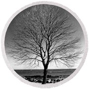 The Perfect Tree Round Beach Towel